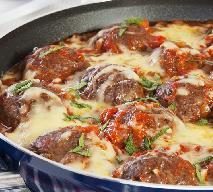 Doskonałe klopsiki w sosie pomidorowym w 15 minut z piekarnika