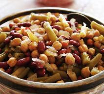 Znakomita sałatka z 5 rodzajów fasoli