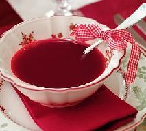 Barszcz czerwony czysty: potrawy wigilijne