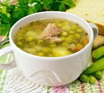Delikatna jarzynowa z groszkiem - przepis na zupę dla małych dzieci, niemowląt i seniorów