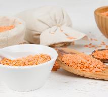 Potrawy z dyni: dal z soczewicy z dynią i szpinakiem