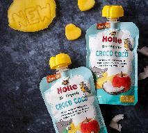 BIO nowość Holle – CROCO COCO – mus owocowy z kokosem dla dzieci od 8