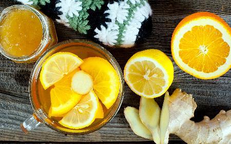 Herbata z imbirem i pomarańczą [WIDEO]