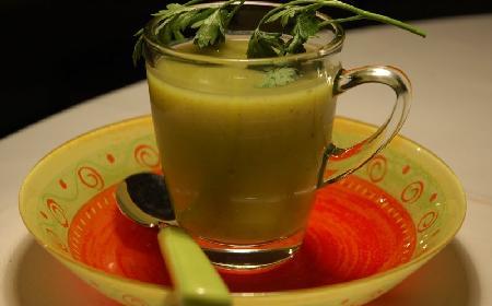 Zupa z pora, czyli jak się szybko rozgrzać zimą