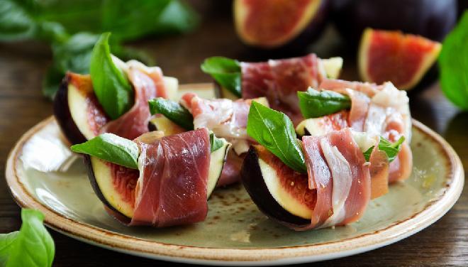 Figi z szynką parmeńską